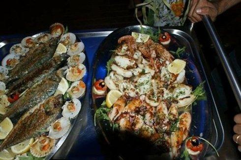 Vassoi di pesce