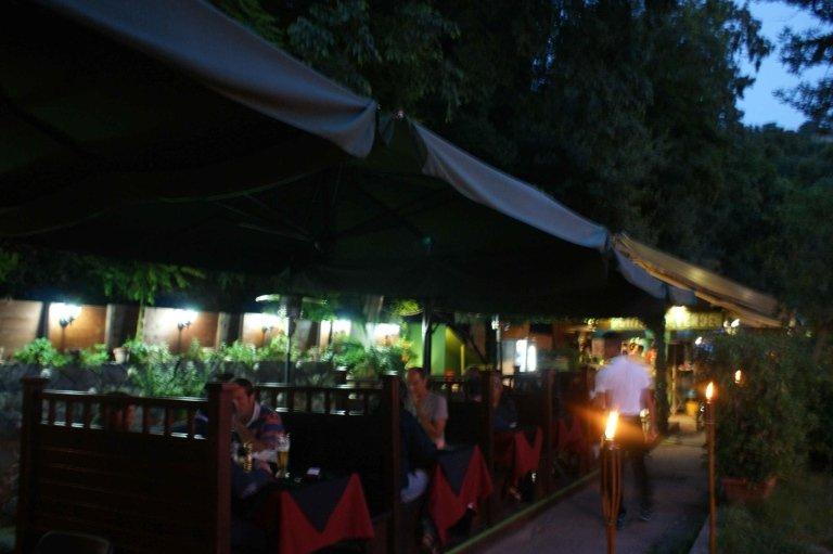 terrazza Chiosco verde