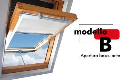 fenêtres de toit modèle B
