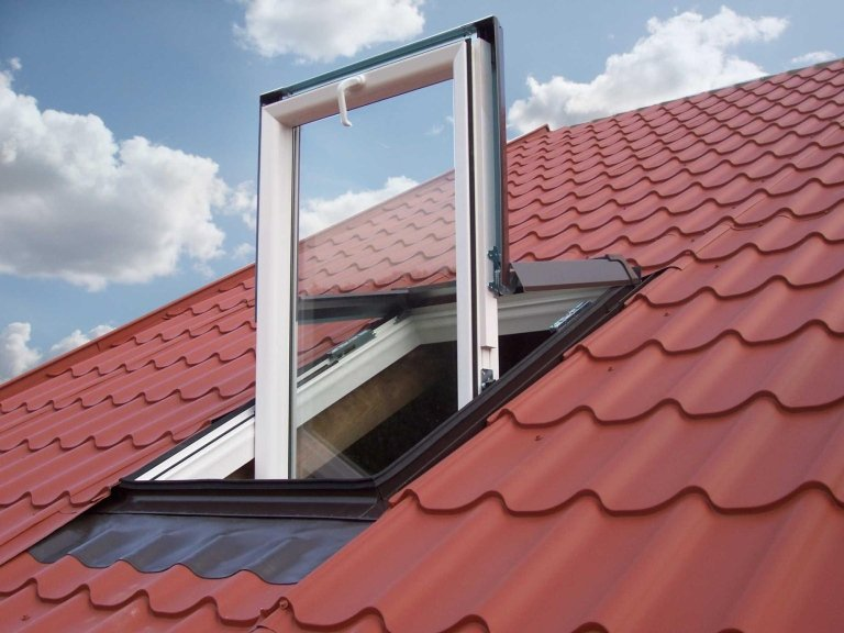 Fenster außen PVC LUXIN.