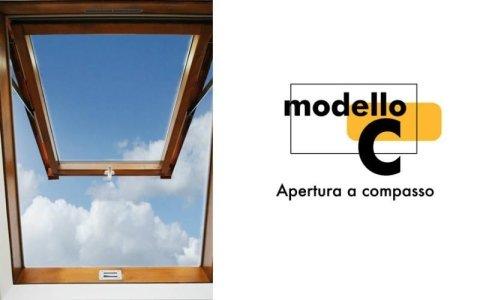finestra monoblocco in legno