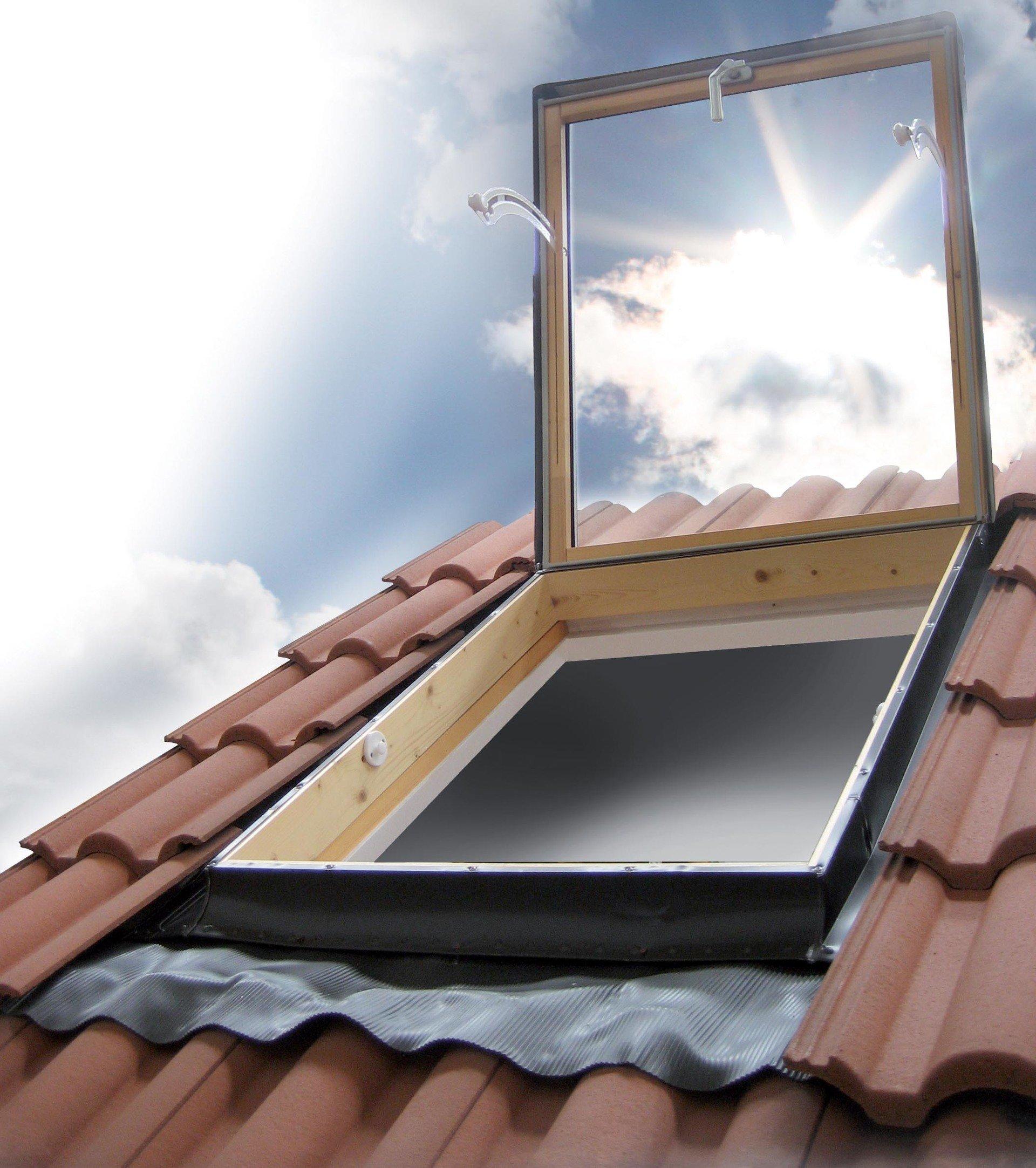 Modelli lucernari sottotetto forl cesena luxin - Blocca finestra aperta ...