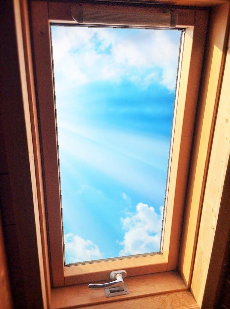 Geschlossenes Fenster