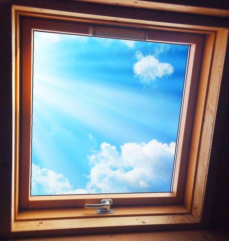 Geschlossenes Fenster 94x98