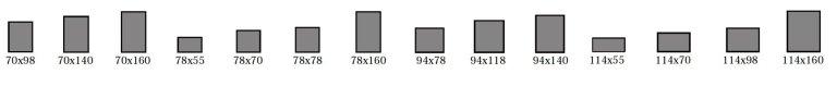 dimensions hauteur cadre