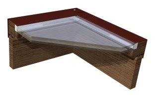 vetro standard per finestre da mansarda