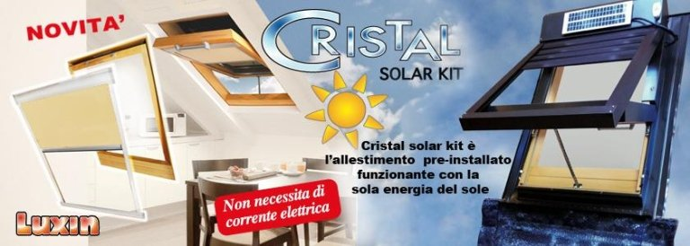 ALLESTIMENTO CRISTAL SOLAR