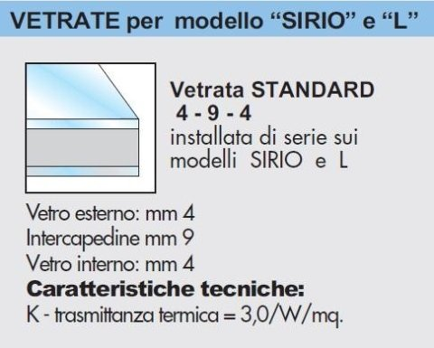 STANDARD GLASS 4-9-4