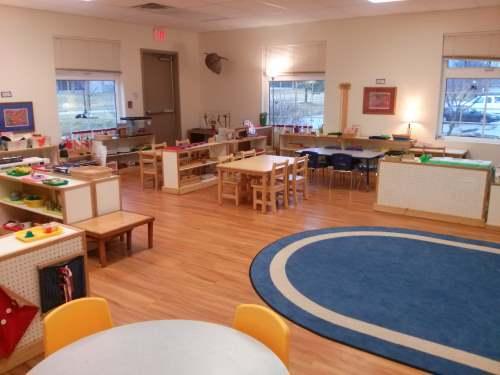 Montessori children's garden classroom
