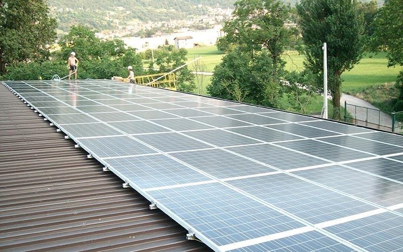 Fotovoltaico su capannone