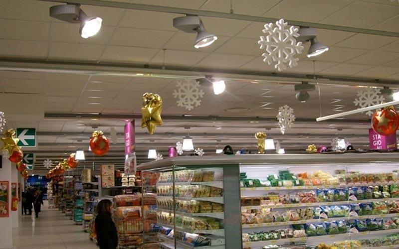 Impianti elettrici per supermercati
