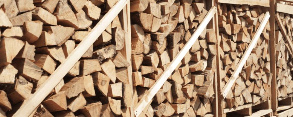 legna da ardere in casse