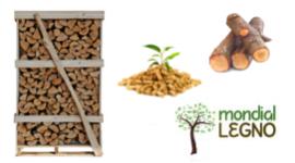 bancale di legna pretagliati