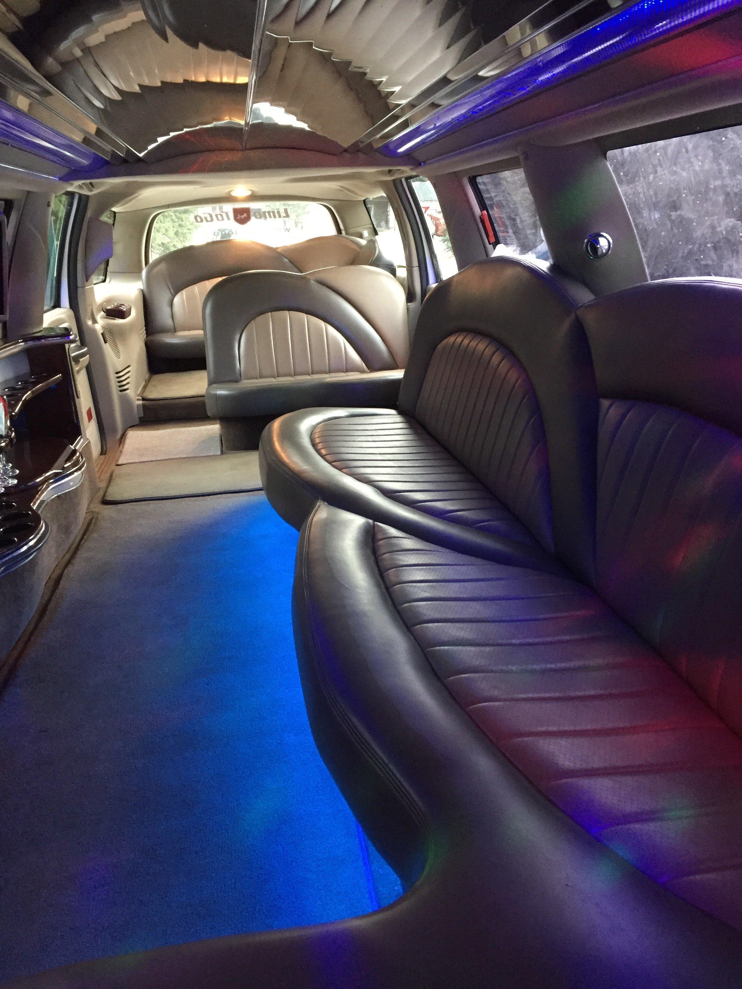 white-excursion-limo-interior