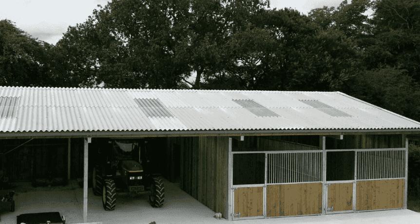 Steel frame buildings, John Butt Fencing, Concreting, Shed Erecting ...