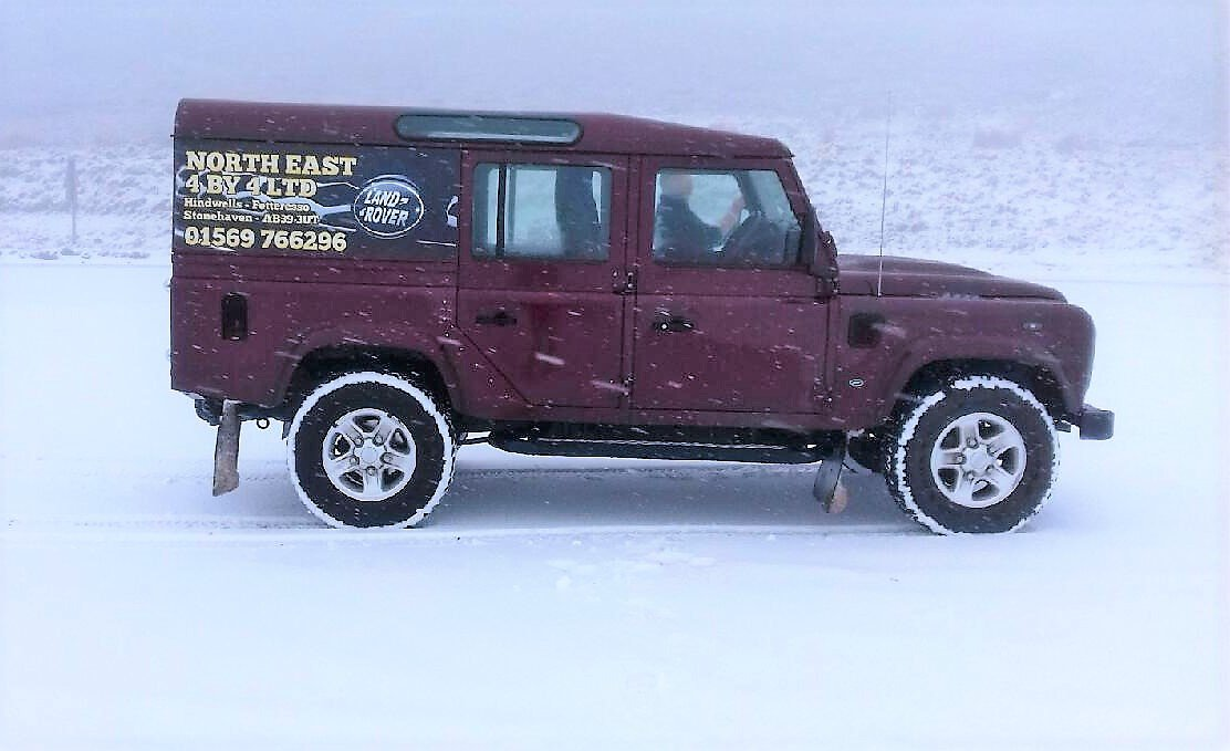 Land Rover Defender North East 4by4 Ltd