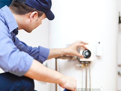 andrew muddle plumbing fixing water heater