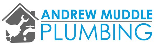 andrew muddle plumbing business logo