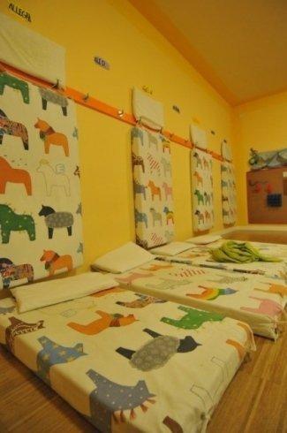 biblioteca dei piccoli, sala nanna, mensa