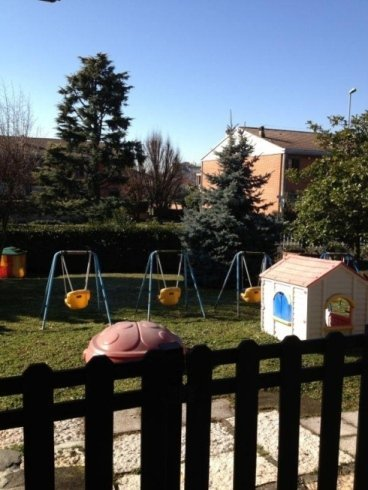 area giochi in giardino