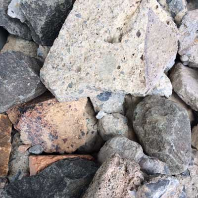 40mm Recycled Drainage Gravel
