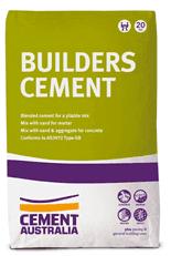 Builders' cement