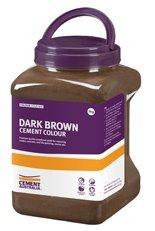 Cement Colours Dark Brown