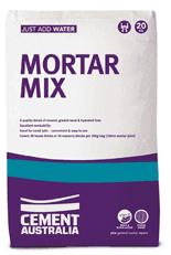 mortar mix 20kg