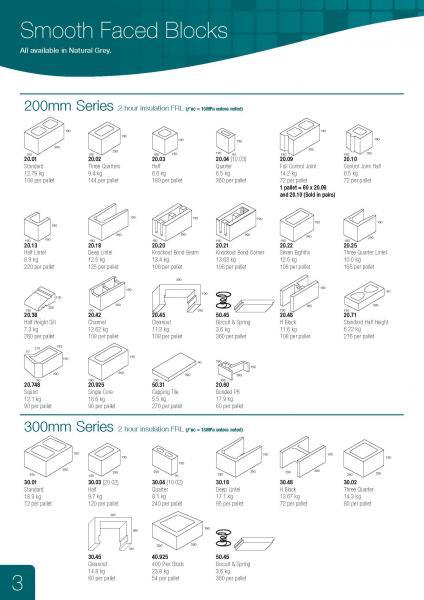 200-300 Series Grey Blocks