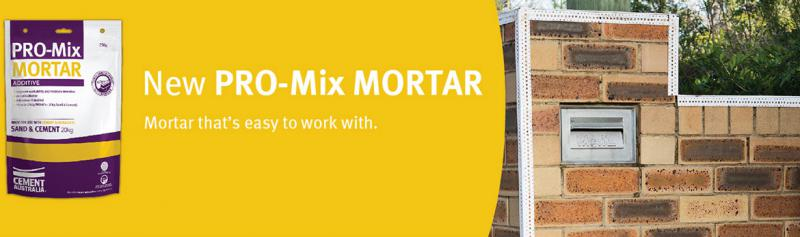pro-mix mortar additive