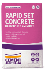 rapid-set concrete 20kg