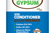 Gypsum Soil Conditioner and Clay Breaker