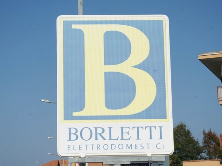 Logo Insegna Borletti