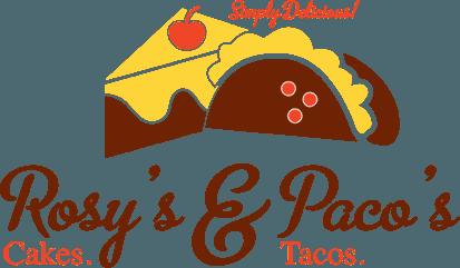 Rosy's Cakes & Paco's Tacos logo