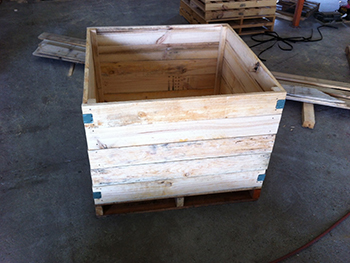 Shipping Box by Rod Scott and Sons