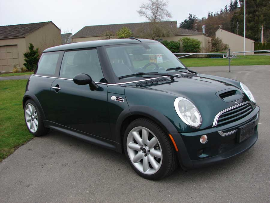 2003 Mini Cooper S 2 Door Coupe