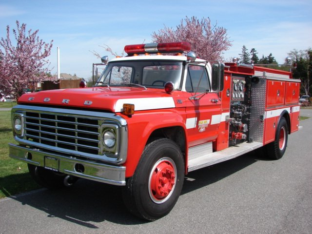 1975 Ford F750 Fire Truck SOLD