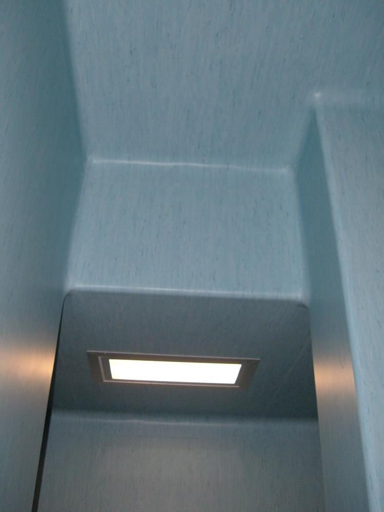 soffitto camera sterile