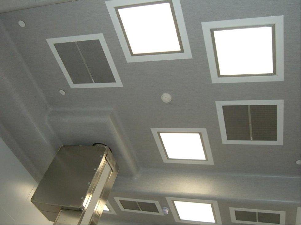 pvc soffitto camere sterili