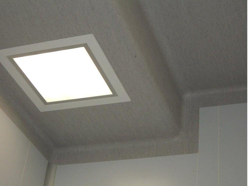 lucernario soffitto pvc