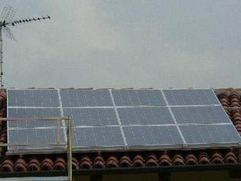 Impianto solare piemonte italia