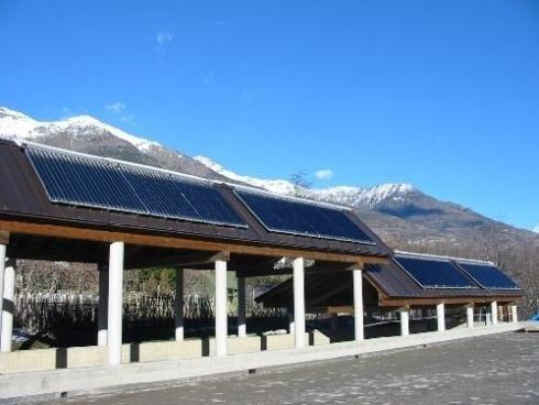 Pannelli solari su terrazzo torino
