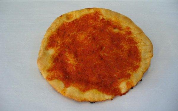 Pizzetta da 100g. al Pomodoro