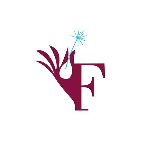 logo di una F