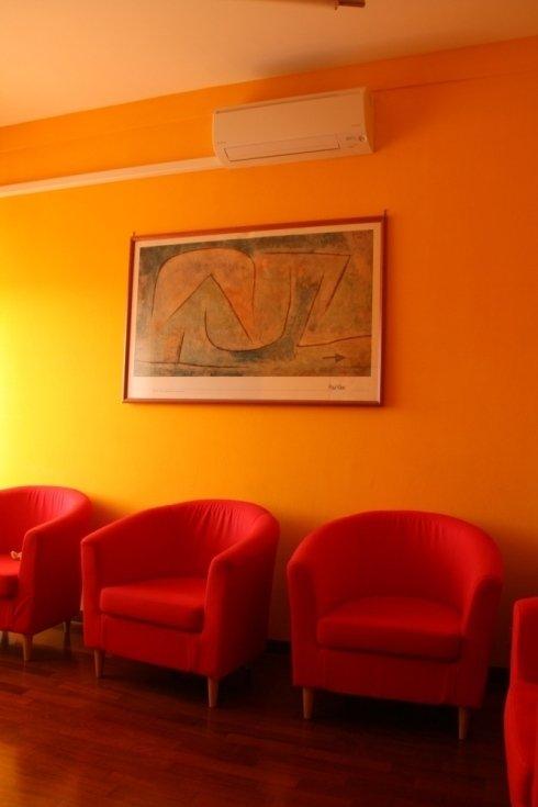 uno spazio confortevole, caldo e accogliente che permette di rilassarsi