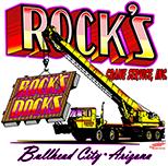 Rock's Crane Service logo