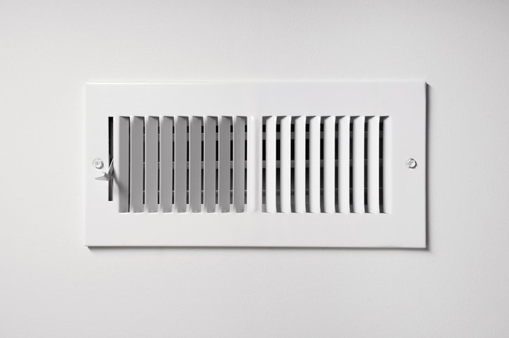 heating cooling vent