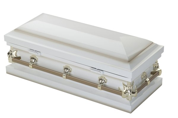 Ashley Ivory Child's Casket