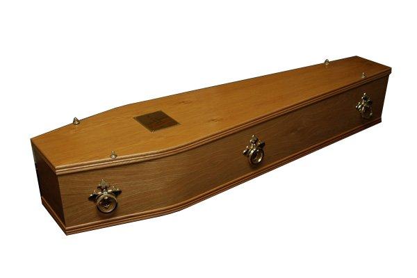 No. 1 Oak Coffin