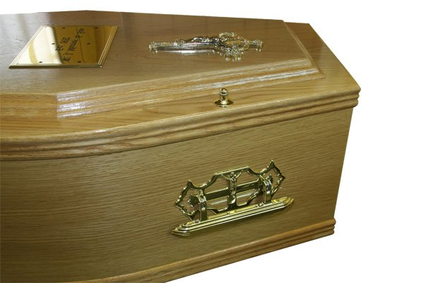 No. 2 Oak Coffin